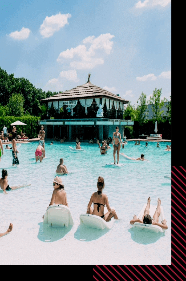 things to do in Bucharest - pool party